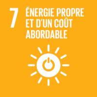 7 - Énergie propre et d'un coût abordable