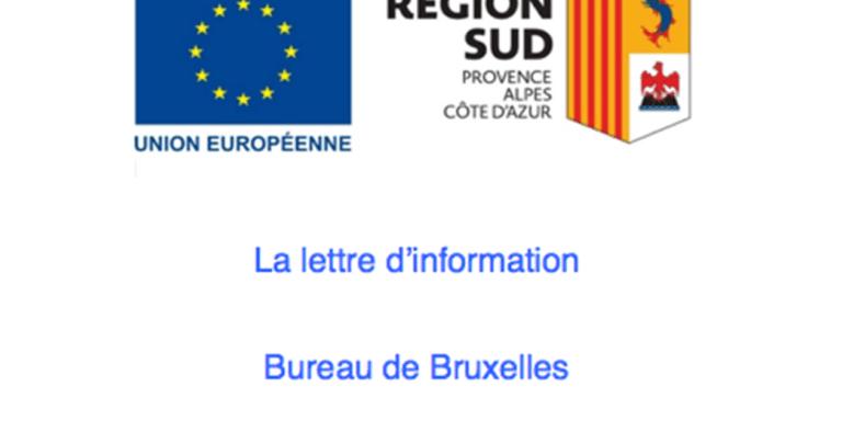 MISTRAL EUROPE : la lettre du bureau de Bruxelles